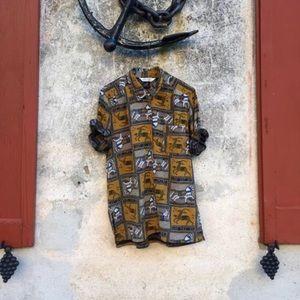 Vintage Carousel Silk Too